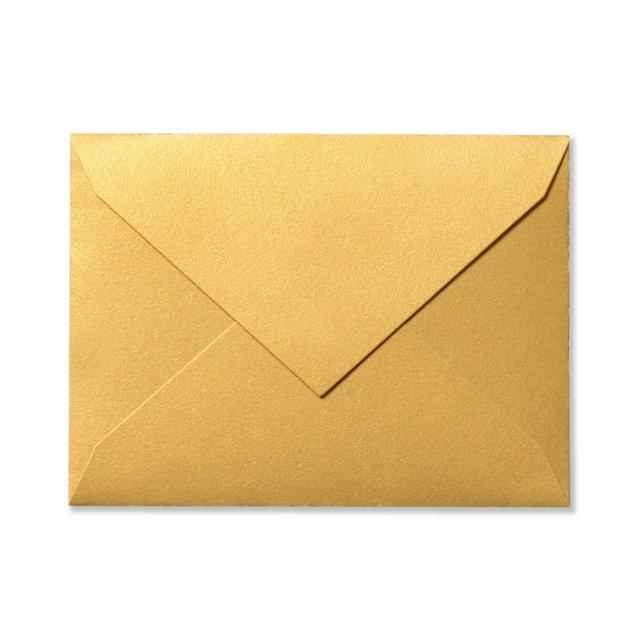 ふみ揃え封筒 ゴールド