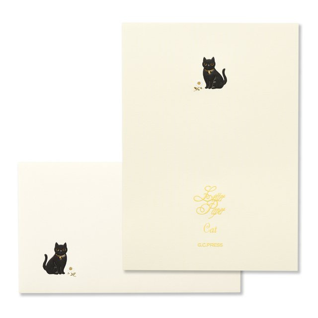 Cat 便箋/封筒セット