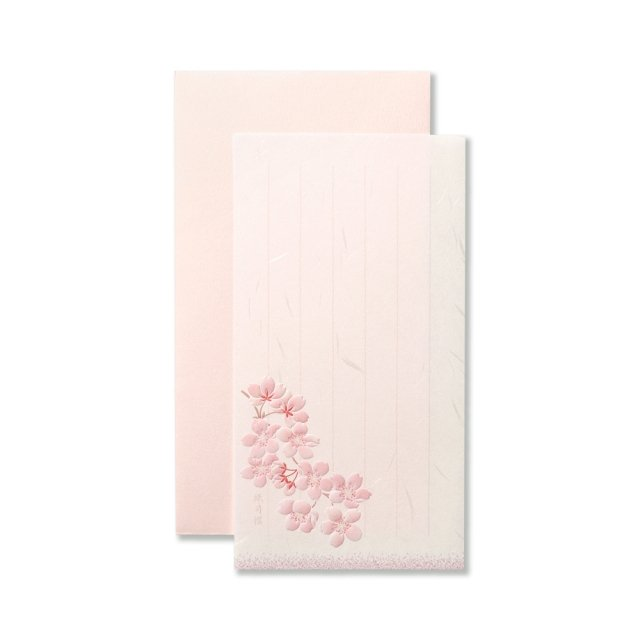 一筆箋セット はるは桜