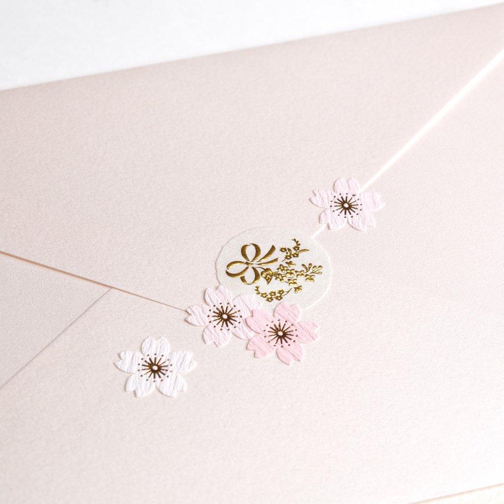 シールデコレーションセット「リュバン&桜」