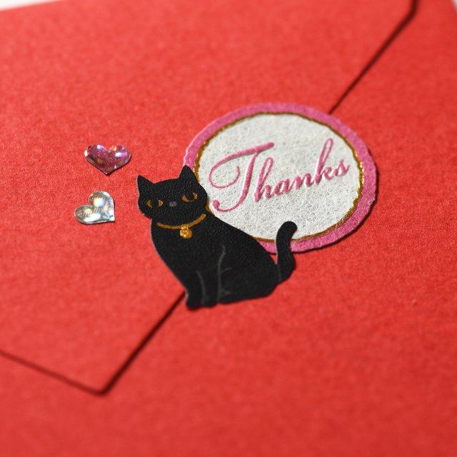シールデコレーションセット「Cat&messages」