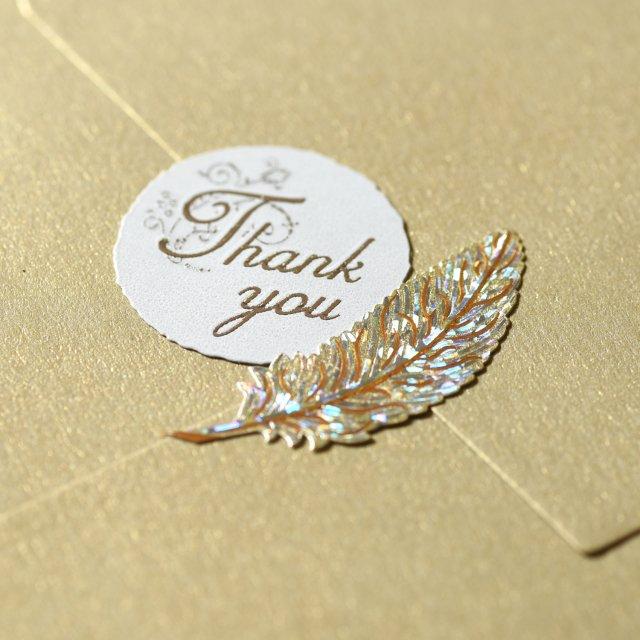 シールデコレーションセット「クイールペン&Thank you」