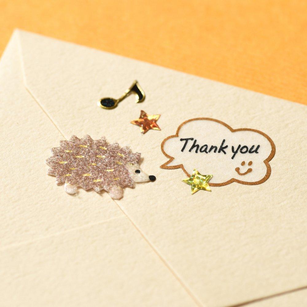 シールデコレーションセット「ラッキーシンボル&マスキング THANK YOU」