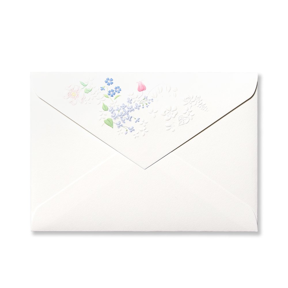 封筒 アン ジュール ド フルール