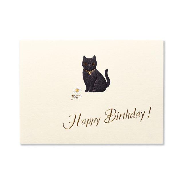 カード Cat  BIRTH
