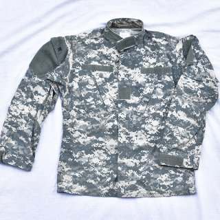 米軍ACU迷彩BDUシャツ 実物中古極上品