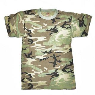 ウッドランド迷彩Tシャツ