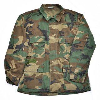 米軍ウッドランド迷彩BDUシャツ 実物中古極上品