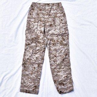 米軍海兵隊MARPATデザート迷彩BDU パンツ 実物新品