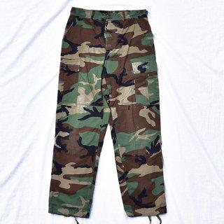 米軍ウッドランド迷彩BDUパンツ 実物中古品