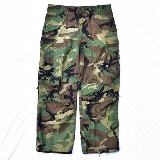 米軍M65ウッドランド迷彩パンツ 実物新品