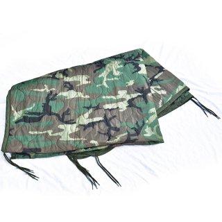 米軍ウッドランド迷彩ポンチョライナー 実物新品