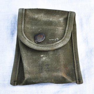 米軍綿コンパスポーチ 中古希少品