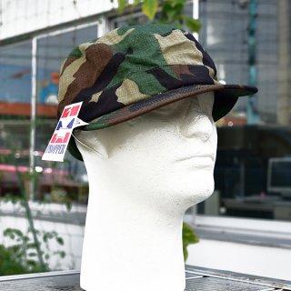 米軍ウッドランド迷彩CAP 実物新品
