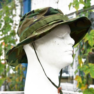 米軍ベトナム戦時リーフ迷彩ジャングルハット