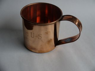 純銅製カップ(US騎兵隊複製品)