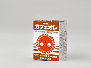 湯田牛乳カフェオレ
