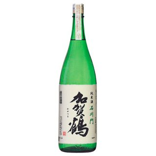 加賀鶴 純米酒「石川門」1,800ml