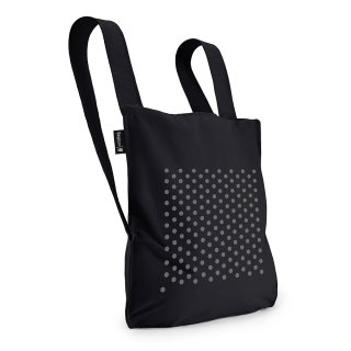 notabag BAG & BACKPACK|ノットアバッグ Reflective Dot Black