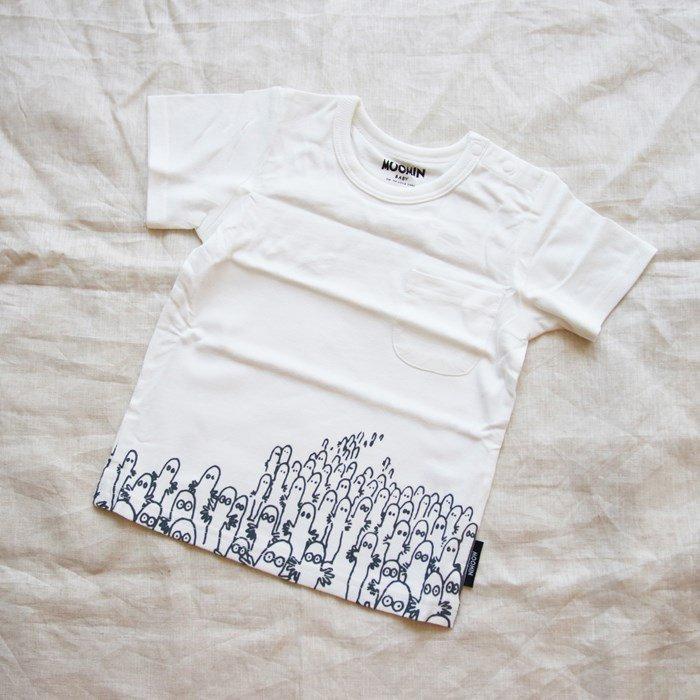 ムーミンTシャツ / ニョロニョロ / 80-100cm