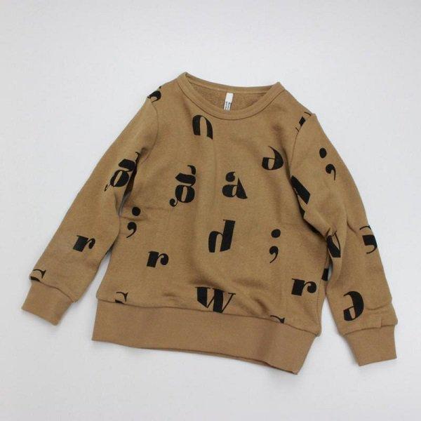 裏毛ロゴトレーナー / ワンダーアパートメント  / コン / 80-160cm