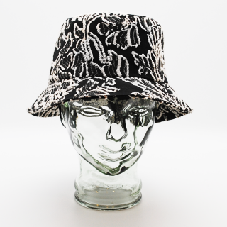 2021S/S coeur ジャガードバケットハット<img class='new_mark_img2' src='https://img.shop-pro.jp/img/new/icons13.gif' style='border:none;display:inline;margin:0px;padding:0px;width:auto;' />