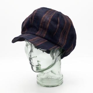 2021S/S coeur リネンストライプキャスケット<img class='new_mark_img2' src='https://img.shop-pro.jp/img/new/icons13.gif' style='border:none;display:inline;margin:0px;padding:0px;width:auto;' />