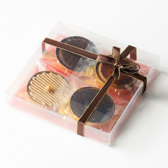 ちょっと気の利いたプレゼントにも♪ とっておきのガレット4個セット 商品写真