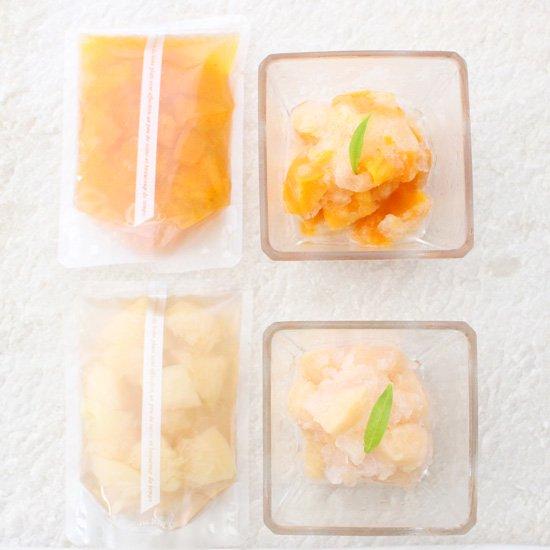 (おひとり様3セットまで)夏季限定 瀬戸内フルーツシャーベット 商品写真