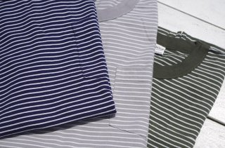 "Mayo SPRUCE "" ATHLETIC STRIPE POCKET TEE"""