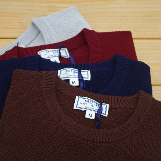 "SECOURS ""high twistwool thermal knit"""