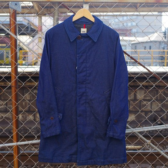 "FOB ""F2326 DENIM TRENCH COAT"""