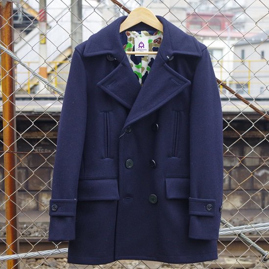 "DEPSEA JAPAN ""U.S NAVY PEA COAT"""