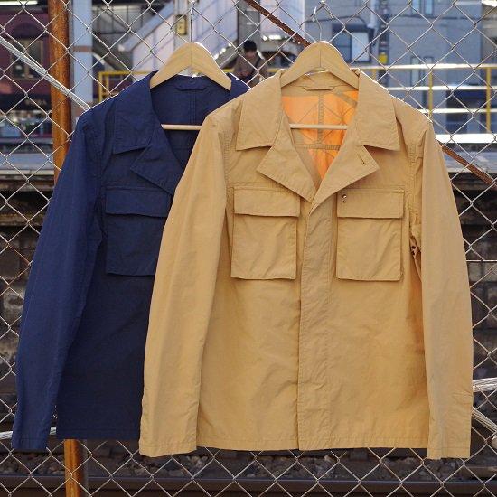 """【50%OFF・ネイビー50のみ!】M.I.D.A. """"military shirts Jacket"""""""
