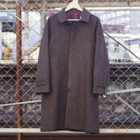 "HYPERION×SECOURS ""MOON TWEED COAT"""