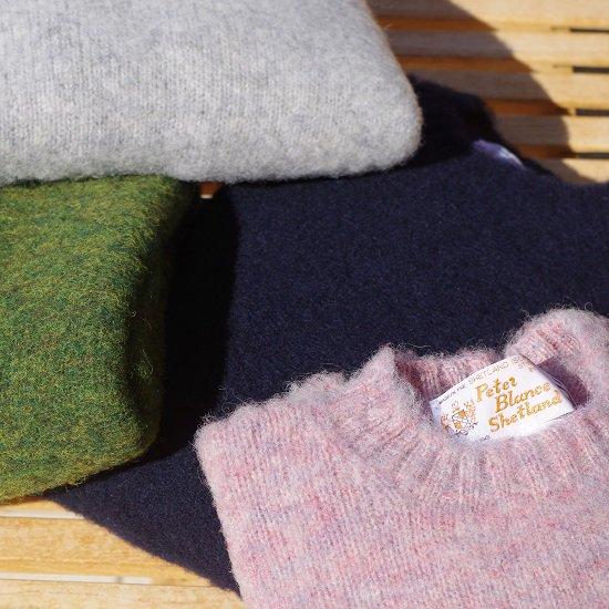 "【20%OFF】 PETER BLANCE ""shaggy dog Shetland Sweater"""
