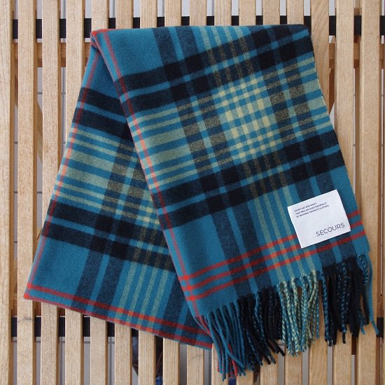 """【30%OFF】 SECOURS """"Tartan check CASHMERE STALL"""""""