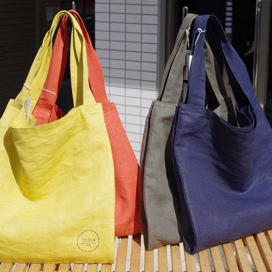 """TOOLS """"relax linen tote bag"""""""