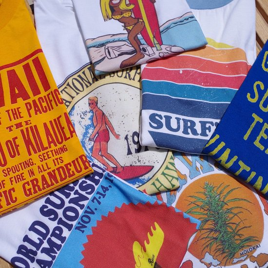 """CLASSIC SURF TEES"""