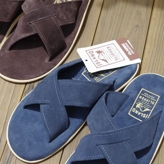 "ISLAND SLIPPER ""PT223 Leather Slide"""