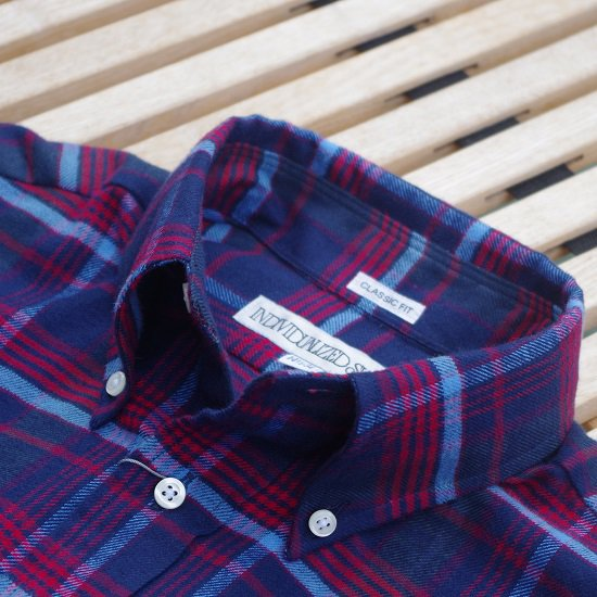 "INDIVIDUALIZED SHIRTS ""FLANNEL CHECK SHIRTS CLASSIC FIT"""