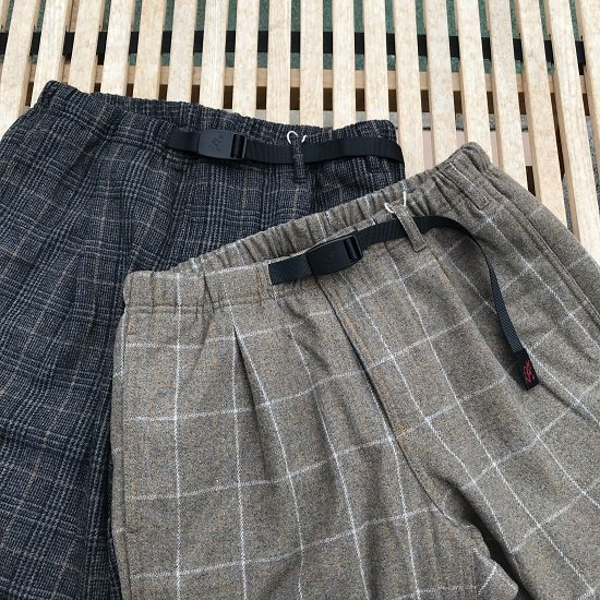 """Gramicci """"WOOL BLEND 1TUCK TAPERED PANTS"""""""