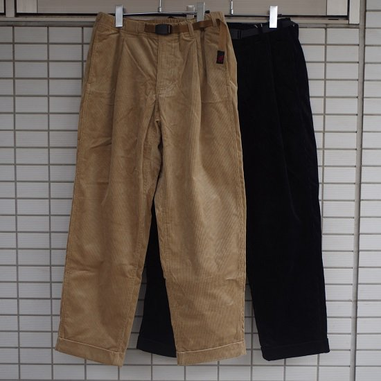 """【10%OFF】 Gramicci """"CORDUROY TUCK TAPERED PANTS"""""""