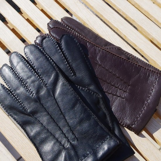 "【10%OFF】 DENTS ""Cashmere lined TouchScreen leather gloves"""
