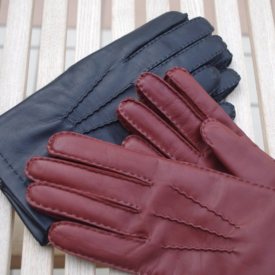 "【10%OFF】 DENTS ""Cashmere lined leather gloves"""