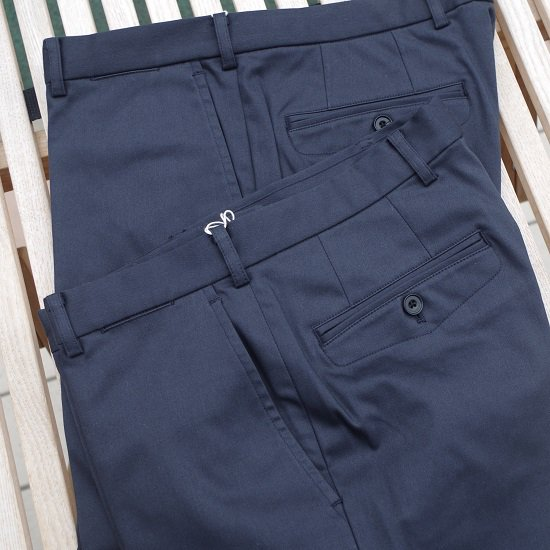 "D.C.WHITE  ""High Power Fit SET UP trousers"""