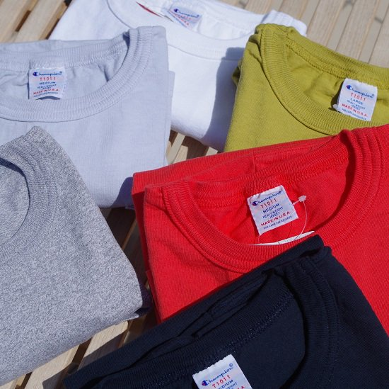 "Champion ""T1011 POCKET TEE"""