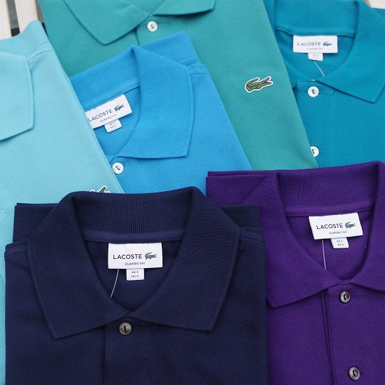 """【10%OFF】LACOSTE """"L1212  寒色カラー"""""""
