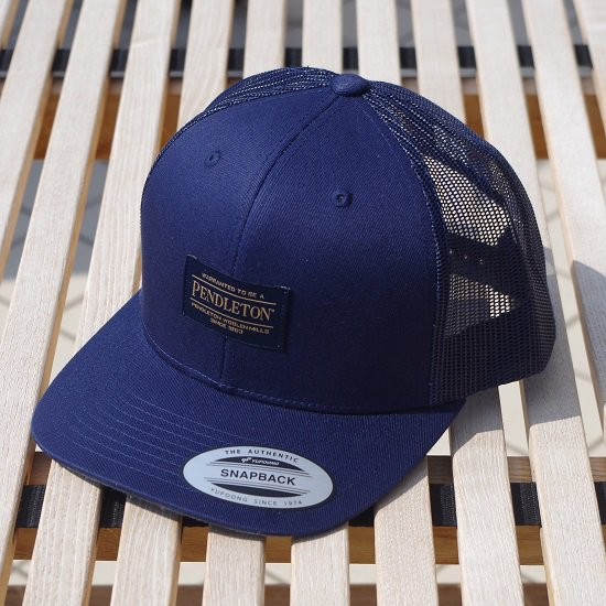 "PENDLETON ""Large Patch Trucker Cap"""