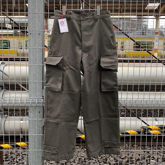 "BERJAC ""FRENCH ARMY TROUSERS M-47"""